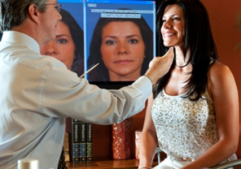 Моделирование носа перед ринопластикой