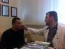 Михаил Терехин на осмотре у Алексаняна после снятия гипса