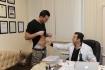 Михаил не упустил возможность проконсультироваться у доктора по поводу жира на животе
