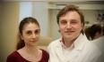 Доктор Викторович и его пациентка после пластики носа