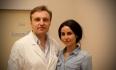 Доктор Грудько и его пациентка после пластики носа