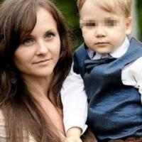 Анна Ожигова с сыном