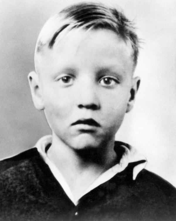 Элвис Пресли в детском возрасте